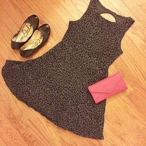 Pink Victoria's Secret cutout skater dress